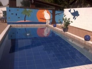 Holiday Bulkau for 10 - 13 people with 5 bedrooms - apartment in one or multi-f