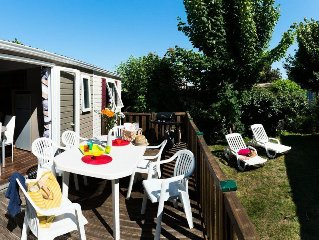 Camping Village Siblu Le Lac des Rêves**** - Mobil Home Excellence 4 Pièces 6/8