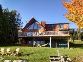 Lakefront Home, Fully Equipped, Bike, Hike,Fish,Kayaks/canoes incl, Fall Foliage