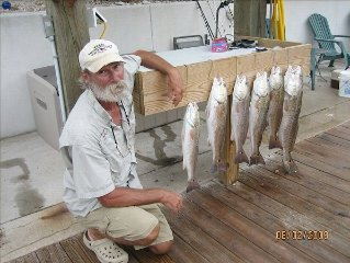 Fish off your own private dock!Reserve today!