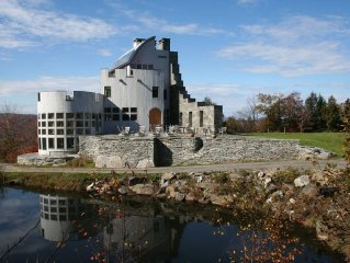 A Modern Scottish Mountain-top Castle in Vermont with breathtaking views