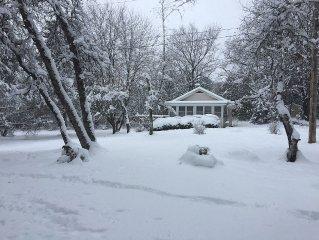 Knotty Pine Cottage w/lake access