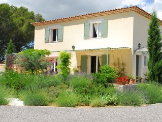 HOUSE COUNTRY HOUSE WITH PRIVATE POOL (AND UZES PONT DU GARD)