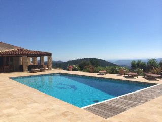 Gated Luxury Villa With Large Private Pool, Multi Use Court And Stunning Views