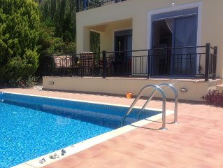 Villa Jasmin with private pool, seafront, Kera