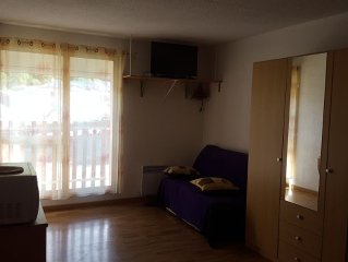 Nice apartment in the mountains at the foot of th