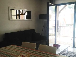 In the heart of Saint Lary Soulan apartment 51m² STANDING new home 4-6 p