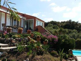Villa au coeur de CARGESE vue mer avec piscine privative