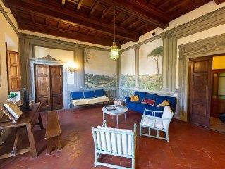 Lovely  Villa  nel Chianti.   Firenze a  soli 10 km. Piscina privata panoramica