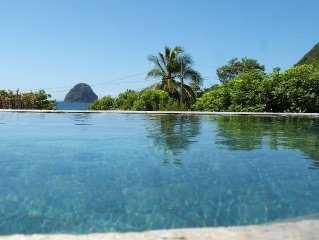 Superb luxury villa with direct beach access