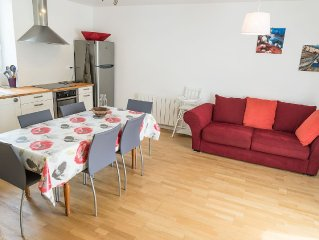 Holiday home 6 pers. Etel, 100 m beach