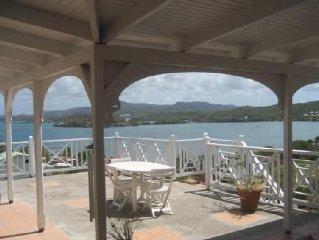 Maison créole traditionnelle , vue sur mer, à 150m d'un village de pêcheurs
