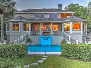 8 Night Harbour ~ Coastal Chic 5Br Oceanfront Home in Palmetto Dunes!