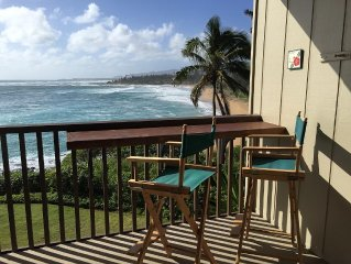 Gorgeous Kauai Beachfront: Private & Central Island Location!
