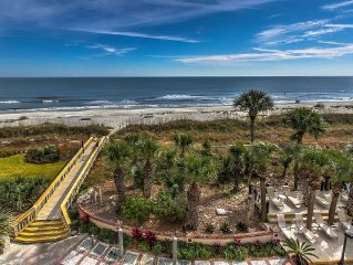 1406 Villamare ~ Enjoy Direct Ocean Views from this 4th Floor, 3br Villa!