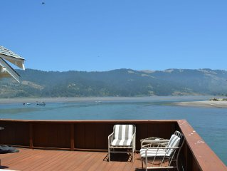 Best View In Bolinas ! Steps Away From The Beach,  Oceanfront Charming House