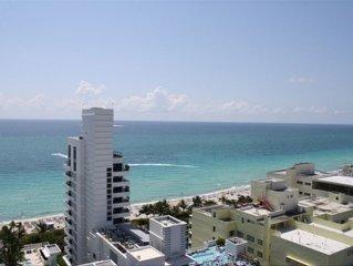 Best Rates!! Gorgeous 1BR/2Bath Fontainebleau Corner Unit Overlooking Ocean
