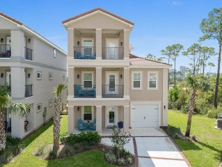 Brand new 3 Story Home with elevator & water views