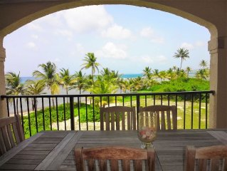 Waterfront duplex 3BR condo, views of Buck Island