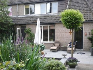 Unique family house in the center of Holland, half an hour from Amsterdam