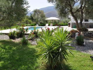 Special Offer 3rd Sep-9th Sep 6 nts L450.  2 bed country house , garden & pool