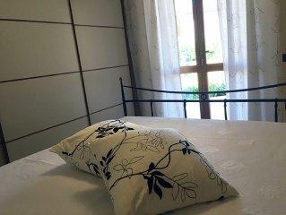 Appartamento in villa con giardino e idromassaggio