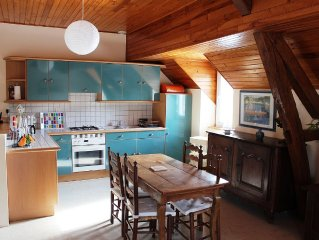 Bord lac Eguzon-Chantome, charmant Gite*** ideal 2/4 personnes, plage a 500m