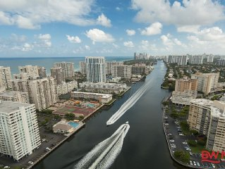 Water Front Luxurious Two Bedroom Condo