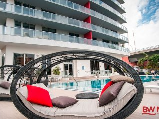 2 Beds Condo with stunning views in BW, Hallandale Beach