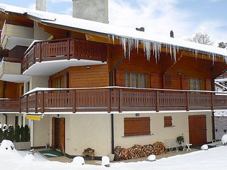 Apartment Le Miclivier B2  in Villars, Alpes Vaudoises - 8 persons, 4 bedrooms