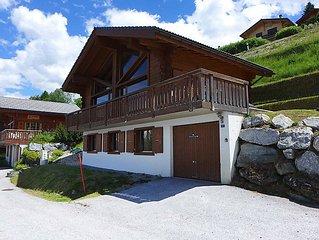 Ferienhaus La Truffe  in Nendaz, Wallis - 8 Personen, 4 Schlafzimmer