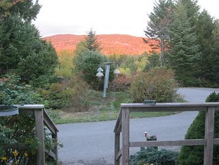 Mtn View Home Near Acadia And Sea, Family And Friend Retreat In Seal Cove Maine