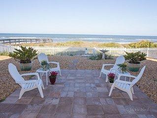 Sundance LUXURY beach HOUSE on ocean. 68-5 star reviews. NO hurricane damage