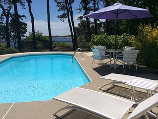 Pleasant Bay with heated Pool, Beach, Waterviews