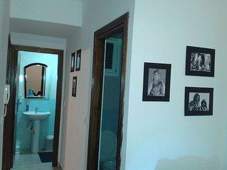 Appartement neuf propre ensoleille situe au ceour de Rabat pour 4 personnes