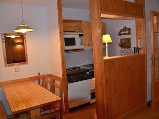 Courchevel village : Appartement T2 agréable - accès skis aux pieds