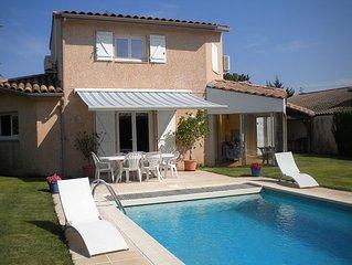 Maison avec piscine sous le soleil de Toulouse