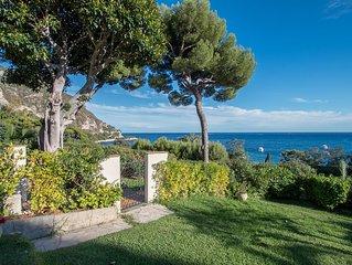 Villa Marina - Le long de la plage de  Eze sur Mer