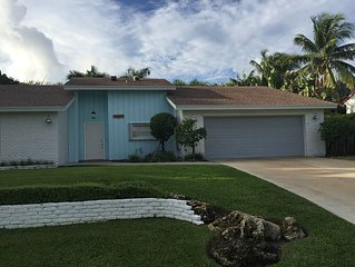 Fully Renovated Beach House In Ocean Ridge, Minutes From Delray, Pet Friendly