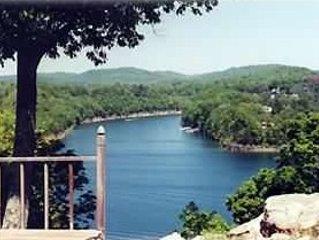 DECK VIEW - Lake Cumberland and Pittmann Creek directly across