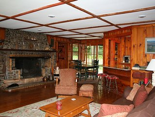 * Off Season Rates for Spring !!  Adirondack style home in Lake Placid, NY