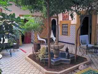 RIAD DAR TAMLIL, Guest house - TWIN with bathroom