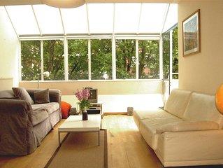 Light spacious Bloomsbury apartment
