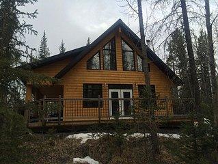 Rocky Mountain Log Cabin