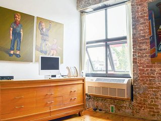 Artist Studio in Converted Factory