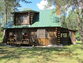 Tranquility Awaits YOU! - Log Cabin in the Woods on the Upper Boardman River
