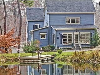 The Big Blue House - 6000sf of Luxury in Leiper's Fork