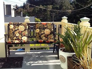 Private 2-bedroom home near Glen Park BART and the Glen Canyon Park!