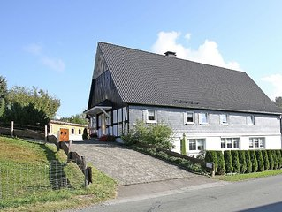 Holiday on the farm in an idyllic location in the midst of the Sauerland.