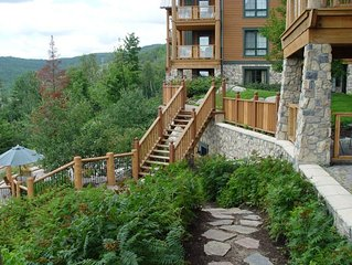 1BR Ski In/Out, 4 season hot tub, Free Shuttle, Great Views (222518)